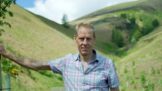Partnerships manager Pete Leeson in Cumbrian landscape