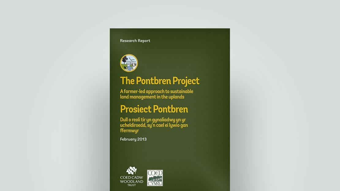 The Pontbren project – sustainable land management, February 2013