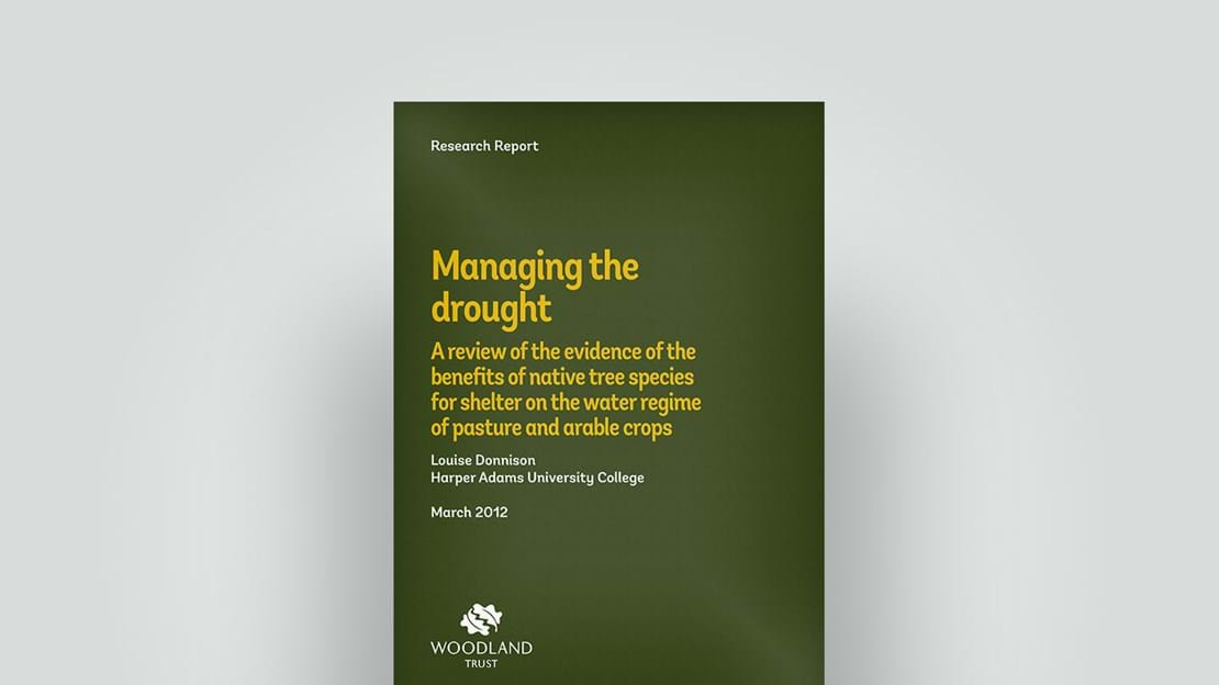 Managing the drought research report, March 2012