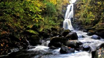 Waterfall at Uig Wood