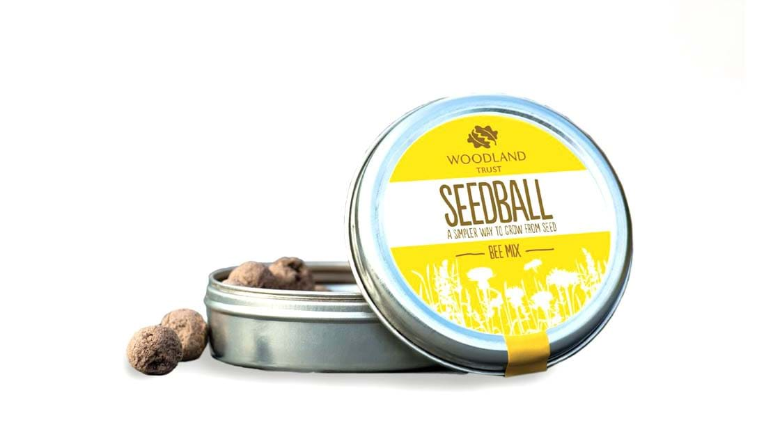 Seedball mix tin