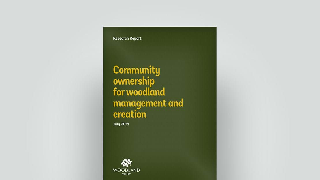 Community ownership for woodland research report, July 2011