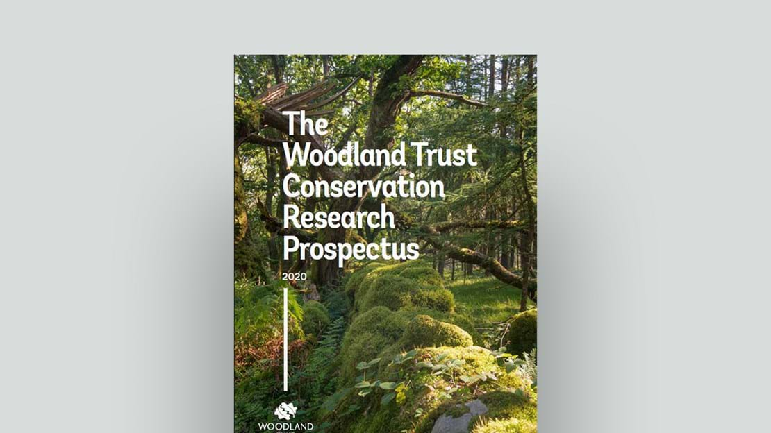 Conservation research prospectus 2020 cover