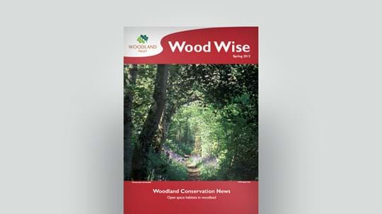 Cover of Wood Wise Spring 2012 - open space habitats