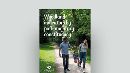 Woodland indicators by parliamentary constituency cover
