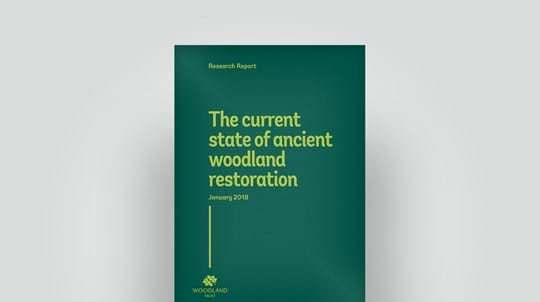 Ancient woodland restoration report, January 2018
