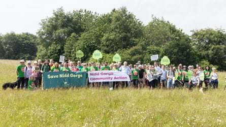 Supporters of Nidd Gorge