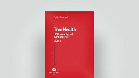 Tree health statement, July 2017