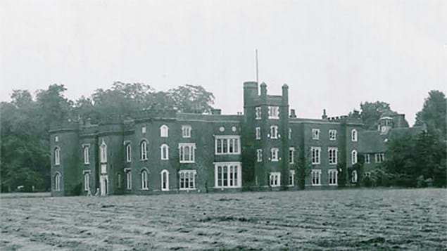 Old Manor, Belhus Chase, demolished 1957 due to wartime damage