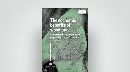 Woodland Trust report on woodland economic benefits, January 2017
