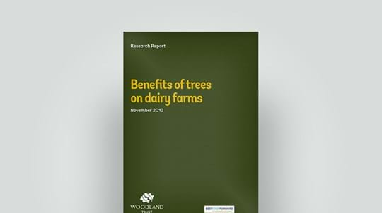 Tree benefits on dairy farms, November 2013 research report