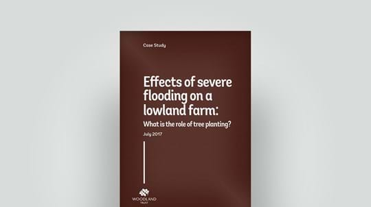 Effects of flooding on lowland farm 2017 case study