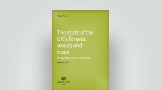 State of UK's forests, November 2011 policy paper