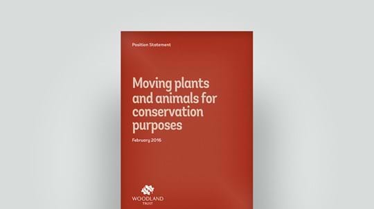 Plants and animals for conservation, 2016
