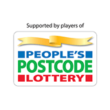 Supported by People's Postcode Lottery logo