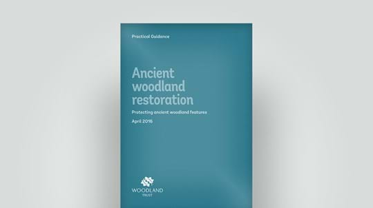 Ancient woodland restoration and protection, 2016