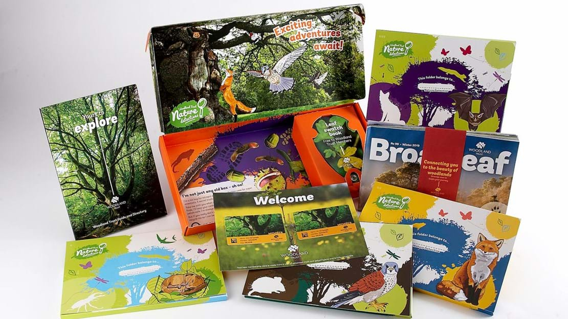 Woodland Trust family membership pack