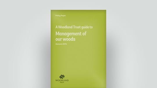 Wood management policy paper, Autumn 2014